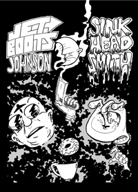 Jetboots Johnson and Sinkhead Smith Comic by Steve Stwalley Ben Zmith