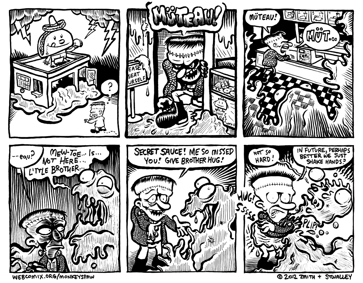 Monkeys Paw Comic 55 by Steve Stwalley and Ben Zmith
